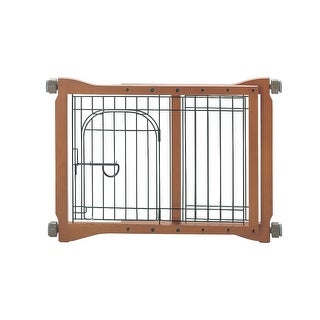 "Richell The Pet Sitter Pressure Mounted Gate Autumn Matte 28.3"" - 41.3"" x 2"" x 20.9"""