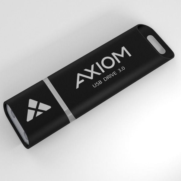 Axiom USB3FD128GB-AX Axiom 128GB USB 3.0 Flash Drive - 128 GBUSB 3.0 - Power-cycling Handling, Long Data Retention, Multi-level