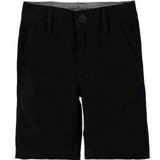 Calvin Klein Kids Boys 4-7 Twill Short