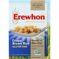 Erewhon Cereal - Organic - Crispy Brown Rice - Gluten Free - 10 oz - case of 24