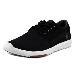 Etnies Scout Men Black/Charcoal/Gum Skateboarding Shoes