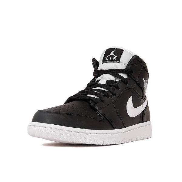 san francisco 4277b ae292 Jordan Mens Air Jordan 1 Mid Low Top Lace Up Basketball Shoes