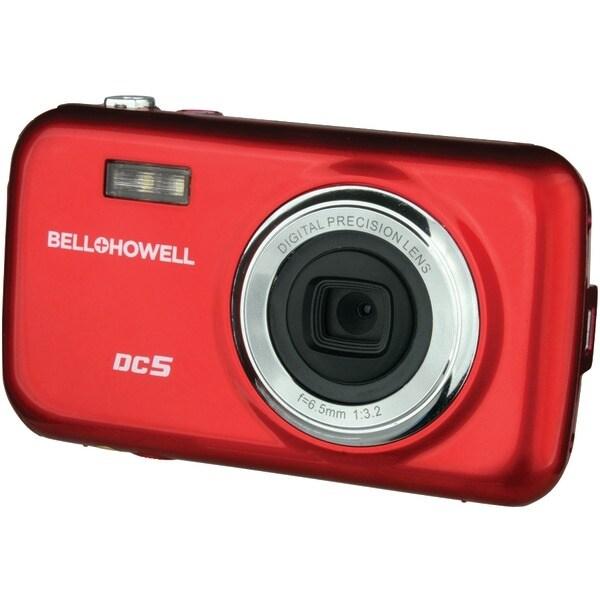Bell+Howell Dc5-R 5.0-Megapixel Fun-Flix Kids Digital Camera (Red)