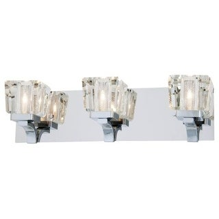 DVI Lighting DVP0743 Beausoleil 3 Light Bathroom Vanity Light