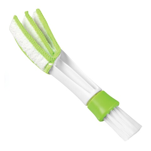 "Hampton Direct Vent & Blind Cleaning Brush - Microfiber Pad Dusts Car or Heat Vents and Keyboards - 6.5"" x 1.5"""