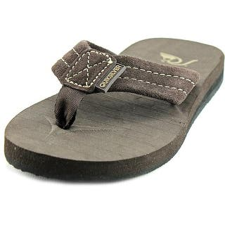 Quiksilver Carver Open Toe Suede Thong Sandal|https://ak1.ostkcdn.com/images/products/is/images/direct/8f7a5ce2cdd1a88e8c8d3542d1fbee5430ad5f01/Quiksilver-Carver-Open-Toe-Suede-Thong-Sandal.jpg?impolicy=medium