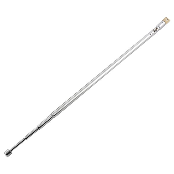 FM AM TV Radio 4 Sections Telescopic Antenna Aerial Mast 360 Degree Rod 62cm