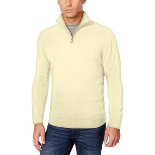 Weatherproof Mens Big & Tall Vintage 1/2 Zip Sweater Thomas Quarter Zip - xlt