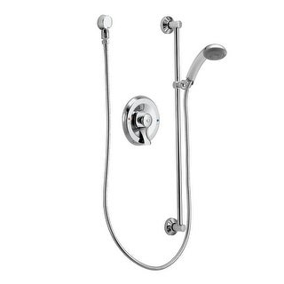 Moen 8346  Shower Faucet with 2.5 GPM Single Function Hand Shower and Posi-Temp Pressure Balancing Rough-in Valve from the