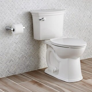 American Standard 714AA.154 ActiClean 1.28 GPF Two-Piece Elongated Toilet with Self Cleaning Technology