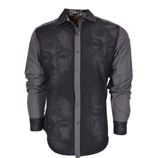 Robert Graham Classic Fit THE MASK Numbered Limited Edition Sport Shirt M