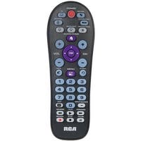 RCA RCR413BHE 4-Device Big Button Universal Remote with Streaming