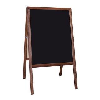 Chalkboard Marquee Easel Blk 2 Sd