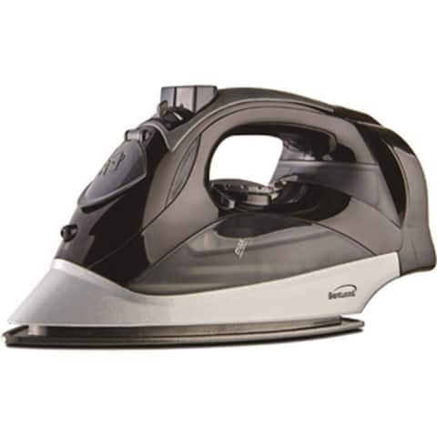 Brentwood Power Steam Iron Nonstick - Black Steam Iron