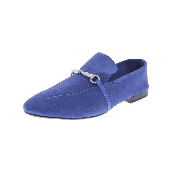 424 Fifth Womens Gabby 1 Loafers Embellished Round Toe