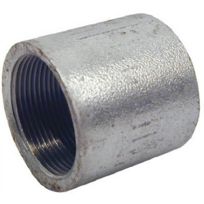 PanNext MG-S15 Galvanized Merchant Coupling, 1-1/2