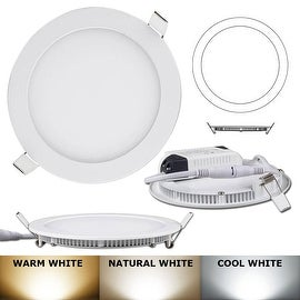 21W -Round LED Recessed Light Ceiling Bulb Lamp Warm White 2700k-3200K Non- Dimmable