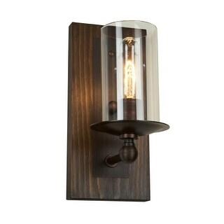 Artcraft Lighting AC10147 Legno Rustico 1 Light Wall Sconce