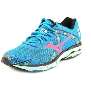 Mizuno Wave Inspire 10 Women  Round Toe Synthetic Blue Running Shoe