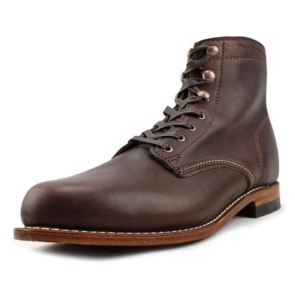 c2c9b38c966 Shop Wolverine 1000 Mile Round Toe Leather Work Boot - Free Shipping ...