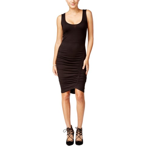 Jessica Simpson Womens BINX Casual Dress Ruched Sheath