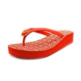 Fergalicious Ella Open Toe Synthetic Thong Sandal
