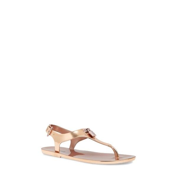 Shop MICHAEL Michael Kors Womens Mira jelly Thong Split Toe