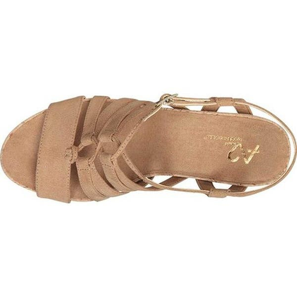 6452cc6528ec0 Shop A2 by Aerosoles Women's Poppy Plush Strappy Sandal Light Tan ...