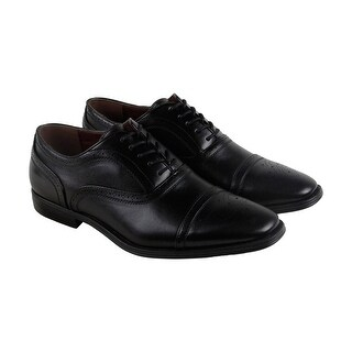 Giorgio Brutini Baylor Mens Black Leather Casual Dress Oxfords Shoes