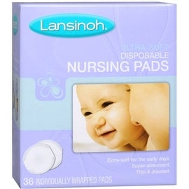 Lansinoh Nursing Pads Disposable Ultra Soft 36 Each (4 options available)