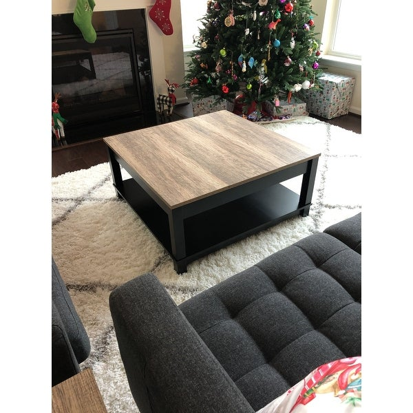 The Gray Barn Latigo Distressed Finish Coffee Table On Free Shipping Today 20170077