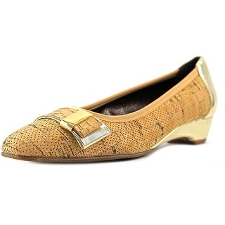 Rose Petals by Walking Cradles Brooklyn WW Square Toe Synthetic Flats