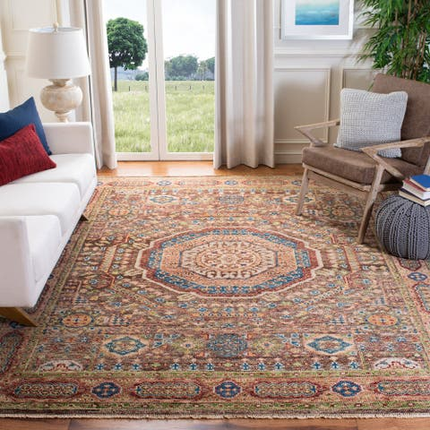 Safavieh Hand-Knotted Samarkand Annelieke Traditional Wool Rug
