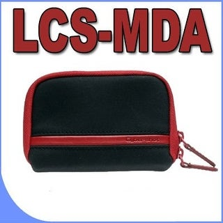 Sony LCS-MDA Cybershot Carrying Case (Black & Red) Sony DSCW330 DSCW350 DSCW370 DSCW510 DSCW520 DSCW530 DSCW560 Digital Cameras