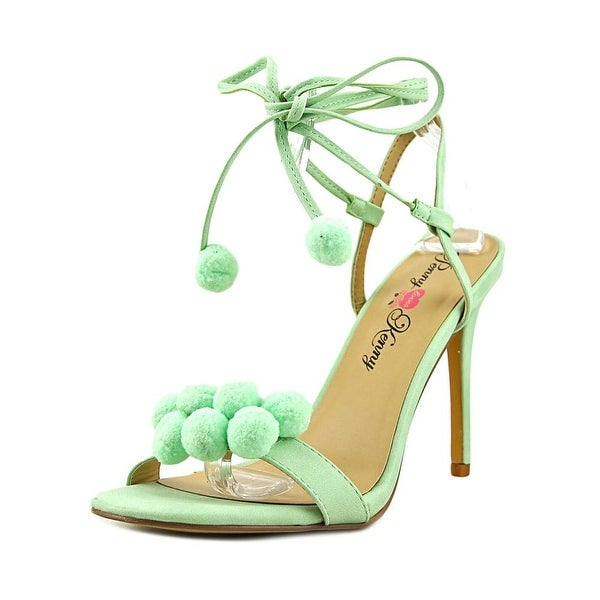 Penny Loves Kenny Darling Women W Open Toe Synthetic Green Sandals