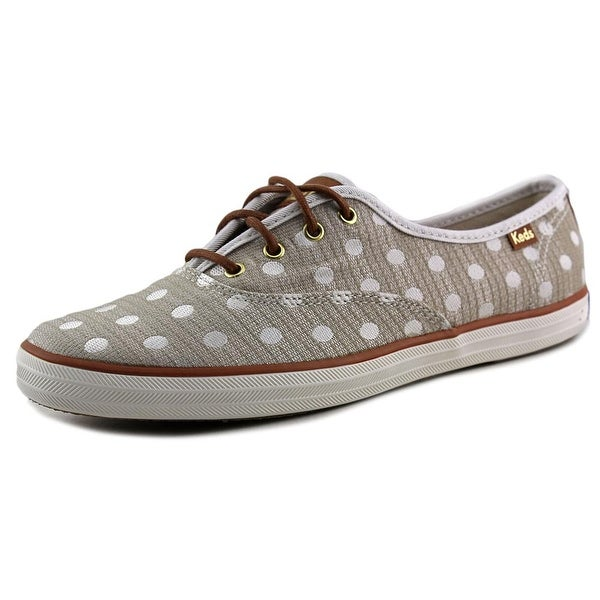 Keds Champion Jacquard Dot Round Toe Canvas Sneakers