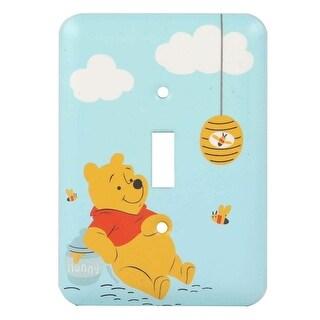 Winnie the Pooh Single Wall Switch Plate