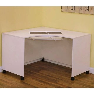 Arrow Mod Squad Model 2021 Modular Corner Sewing Machine Table Cabinet - White