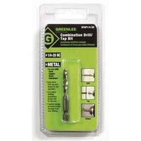 Greenlee DTAP1/4-20 One-Piece Drill/Tap Bit 1/4-20