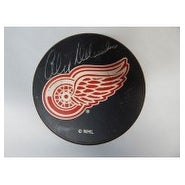 Signed Delvecchio Alex Detroit Red Wings Detroit Red Wings Hockey Puck autographed
