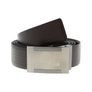 Roberto Cavalli FSC107 D1168 Brown Mens Belt - 45