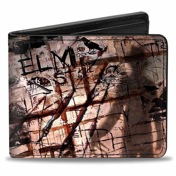 Elm St Scratch & Scribbles Freddy Shadow Bi Fold Wallet - One Size Fits most
