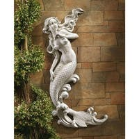 The Mermaid of Langelinie Cove Wall Sculpture DESIGN TOSCANO wall sculpture