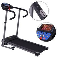 Costway 1100W Folding Treadmill Electric Support Motorized Power Running Fitness Machine