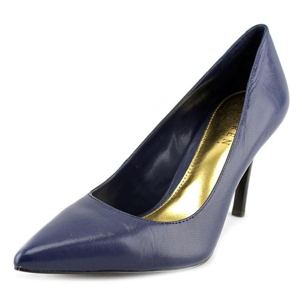 Lauren Ralph Lauren Sarina Pointed Toe Leather Heels