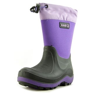 Kamik Stormin 2 Youth Round Toe Synthetic Purple Winter Boot