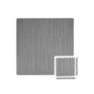 Manor Interlocking Floor Foam Tiles - 36in x 36in x 0.4in