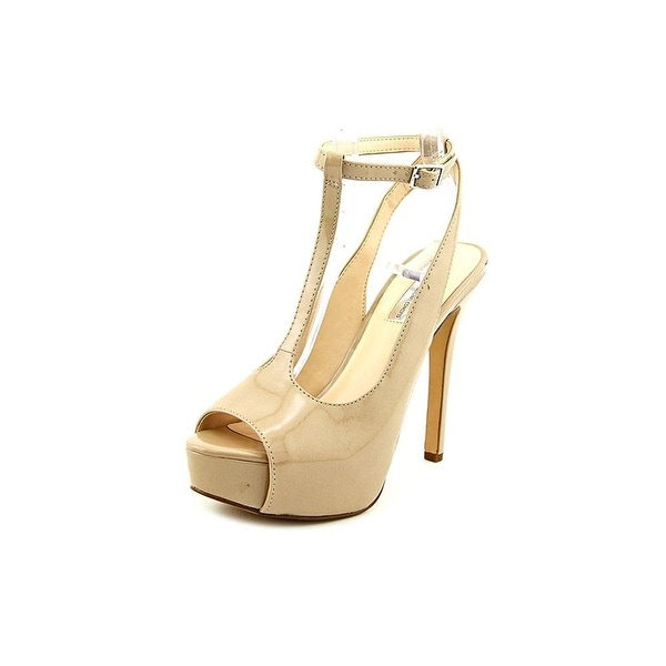 INC International Concepts Womens MAREE Open Toe Ankle Strap Platform Pumps