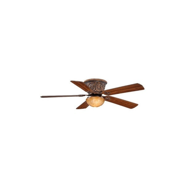 "Vaxcel Lighting FN52317 Corazon 52"" 5 Blade Indoor Ceiling Fan - Light Kit and Fan Blades Included - Aged Bronze - n/a"