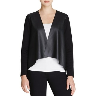 Velvet Womens Blazer Textured 3/4 Sleeves